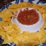 Salsa with Chips