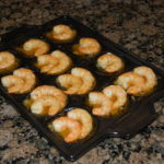 Grilled Shrimp in Butter Sauce