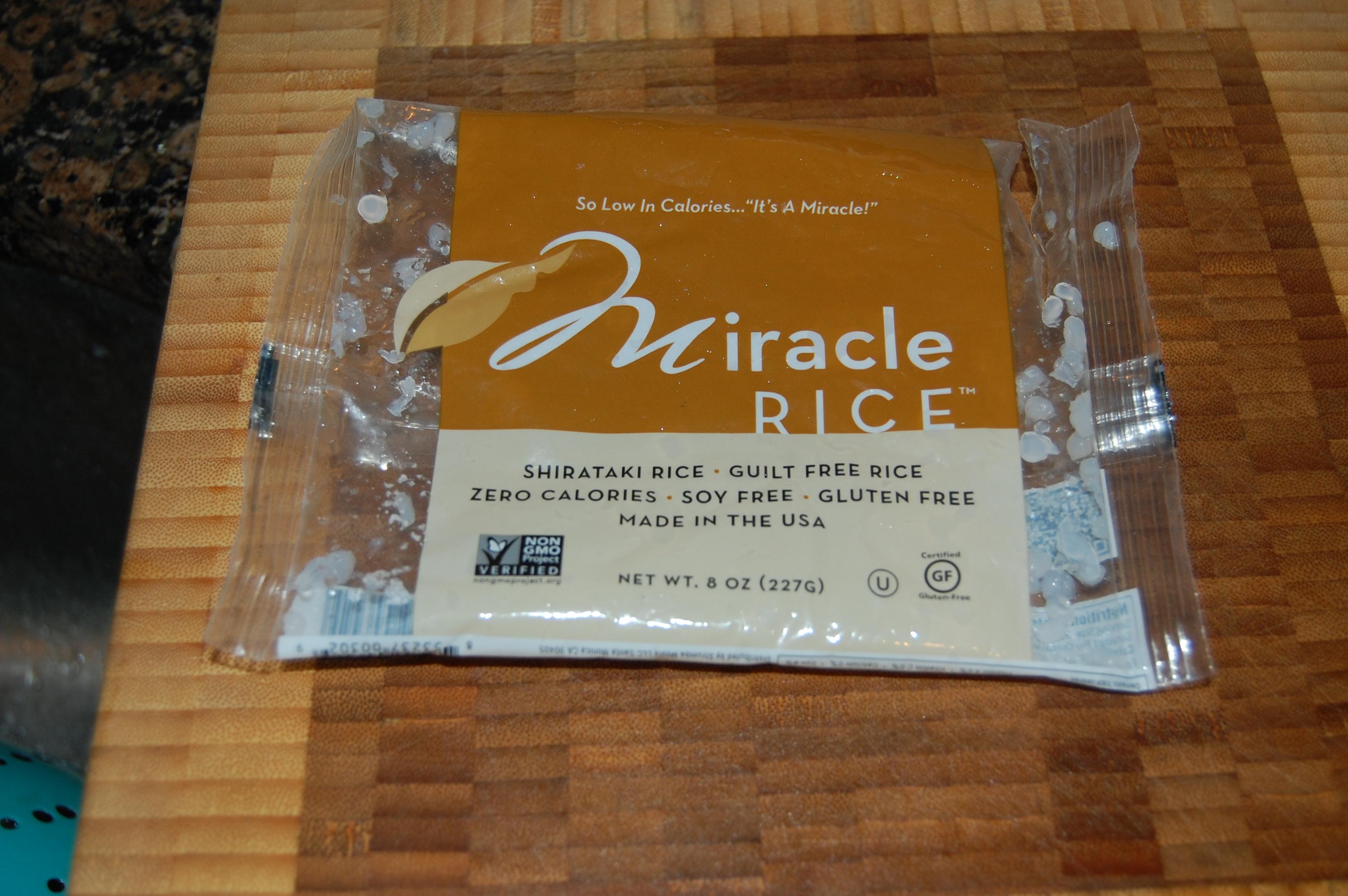 Zero Calorie Miracle Rice