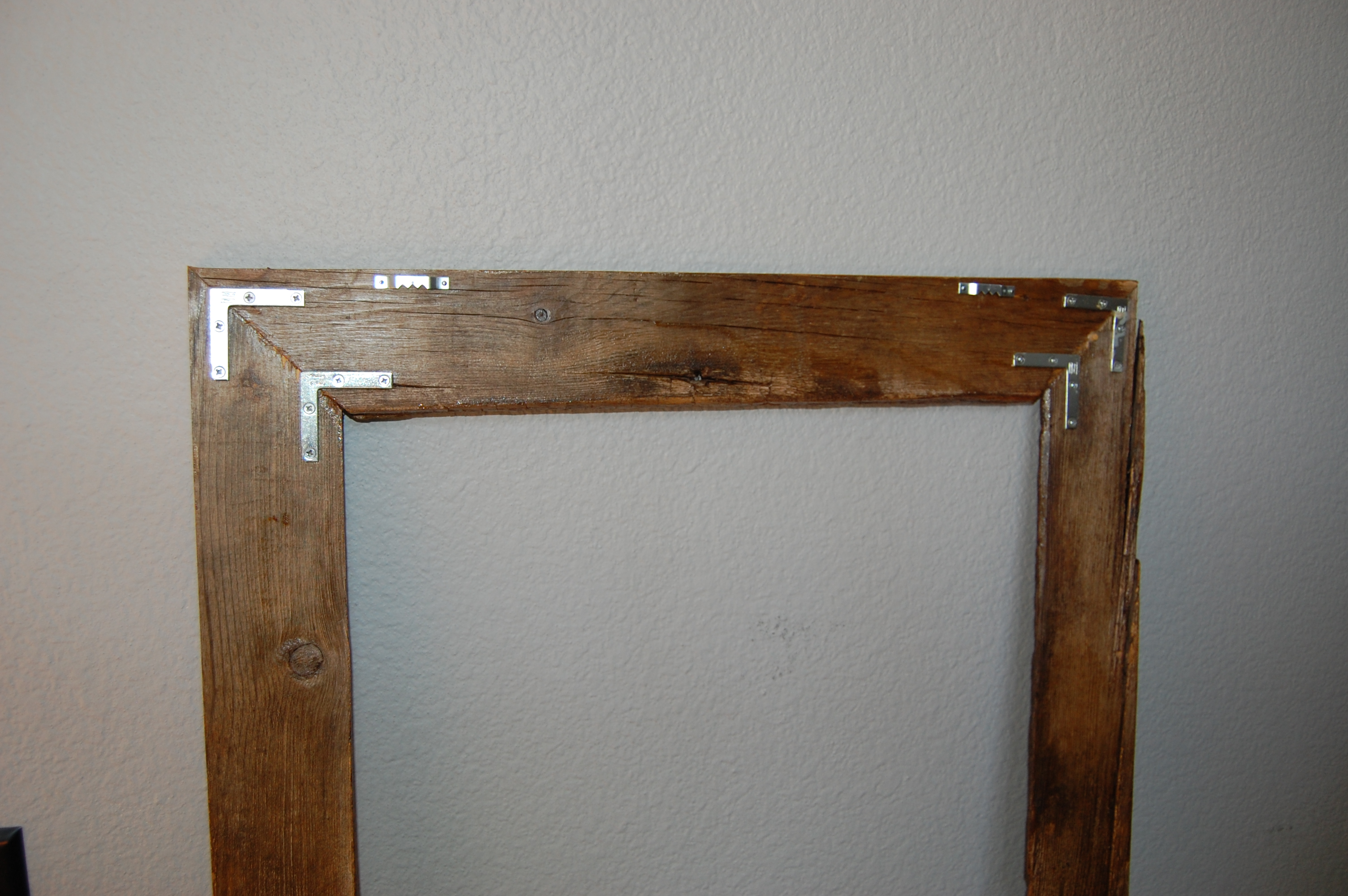Authentic Aged/Reclaimed Barnwood Frame - 12 inch x 18 inch ...