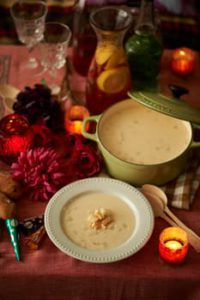 Creamy Seafood Chowder with a Dairy Free option