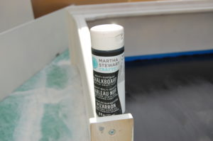 Martha Stewart chalk board paint