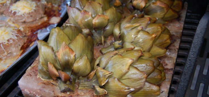 Grilled Artichokes – amazing as an appetizer or main course!
