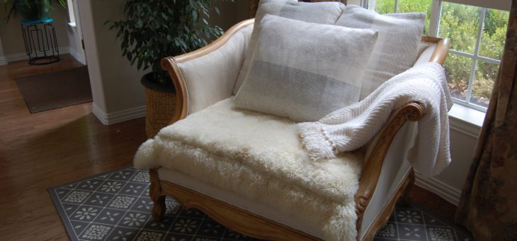 Drab to Fab -Stylish Chair MakeOver on a Budget