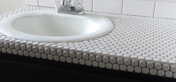 Bathroom sink salvage – you don't have to add to landfills to have a beautiful home!