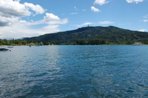 Woerthersee Lake, Austria