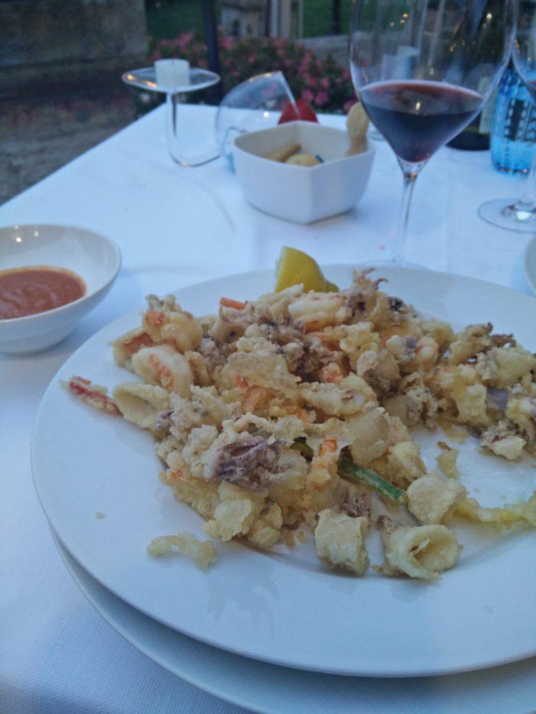 The delicious food at Ristorante Alla Vecchia Finanza