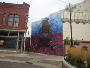 local artist's mural downtown Pueblo