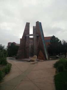 Pueblo Fountain