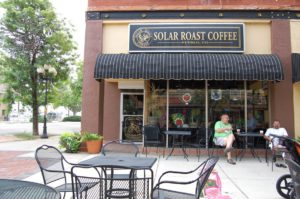 Solar Roast Coffee in downtown Pueblo