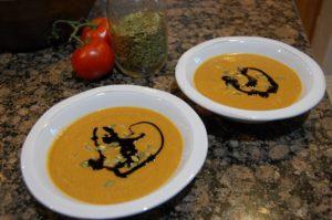 non dairy pumpkin soup - my favorite Austrian dish