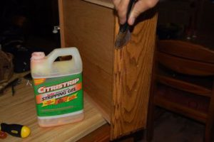 non toxic citristrip for refinishing
