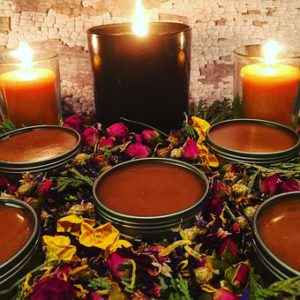 flowers herbs oils candles