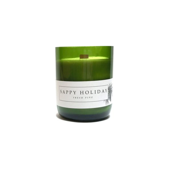 PiecebyPaz Sappy Holiday Candle