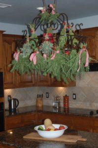 holiday pot rack
