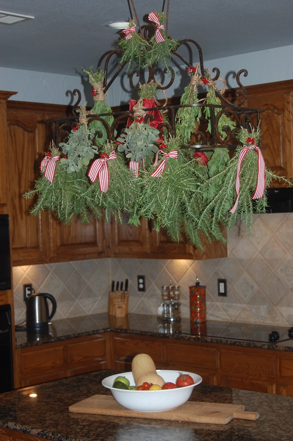 holiday pot rack
