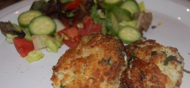 Cauliflower spinach jalapeño balls – vegan or cheesy