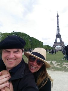 Markus and Heidi in Paris