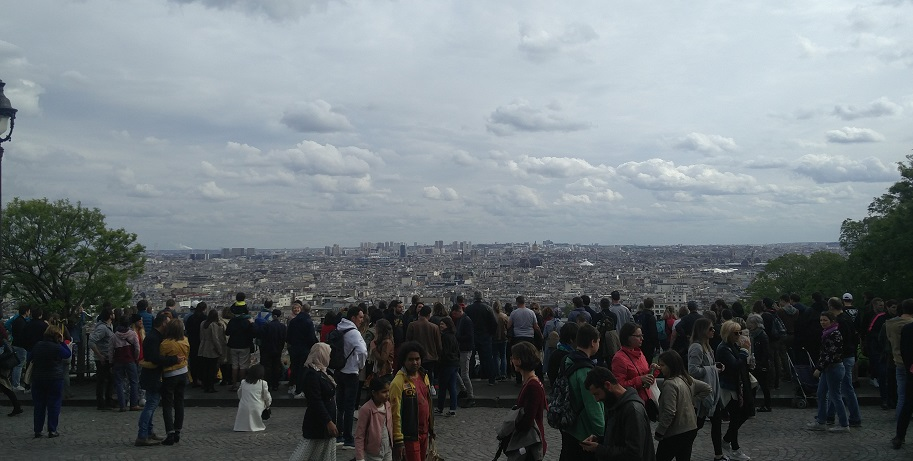 View from Mont Martre