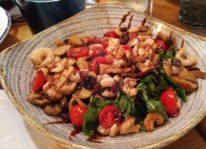 Seafood salad at Roco