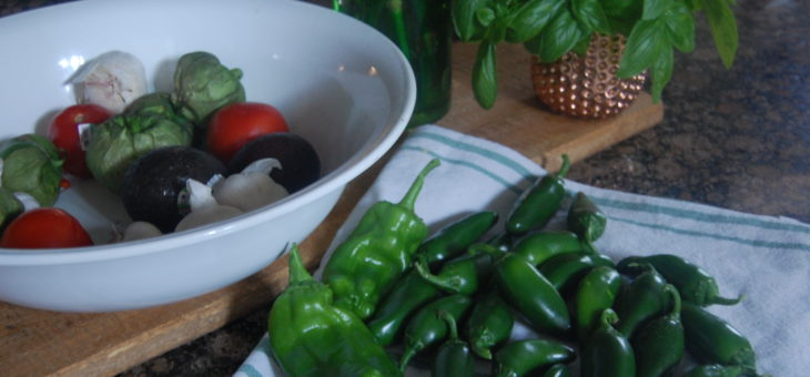 Hot Pepper Harvest & Hot Sauce Recipes