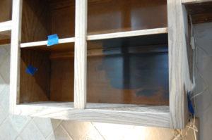 Interior paint Test Area