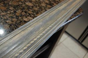New uper cabinet trim