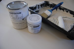 Chalk paint supplies for table