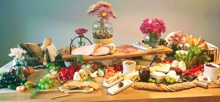 Try a Grazing Table at your next party – Beautiful, delicious and Easy!
