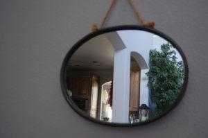 Mirror used as pattern