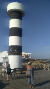 Lighthouse in colonia st. jordi