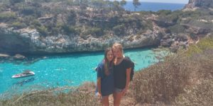 Es Calo des Moro Beach in Southern Mallorca